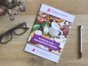 Neue Broschüre: Ernährung beim Hypoparathyreoidismus
