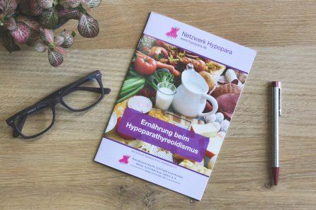 Foto: Broschüre Ernährung beim Hypoparathyreoidismus